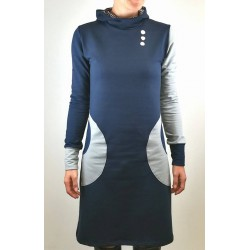 Obleka Petra modra