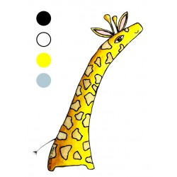 Preslikač Žirafa A6