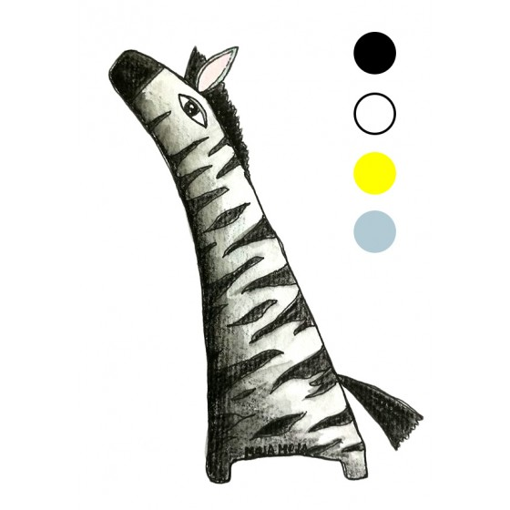 Preslikač Zebra A6