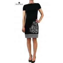 Obleka Olya - črna