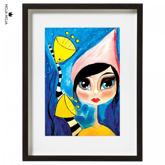 Art Print Palčica
