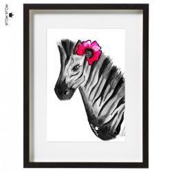 Art Print Zebra