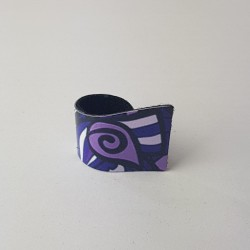 Ring snail Lilac
