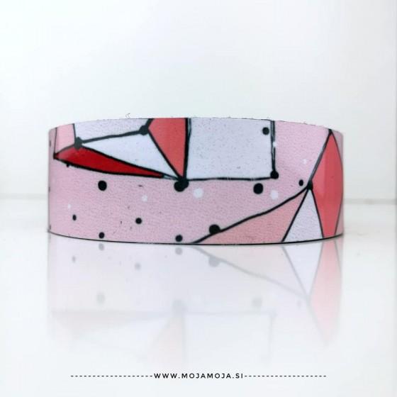 Srednja zapestnica Pink pikice