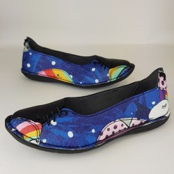 Shoes Black - Rainbow