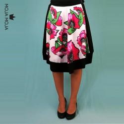 Skirt Black Poppy