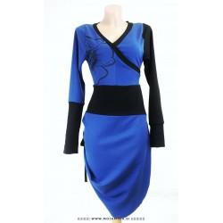 Obleka Modri Mak