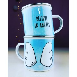 Cup Believe in angels