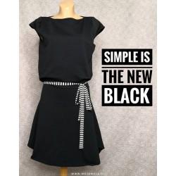 Dress Black Romana