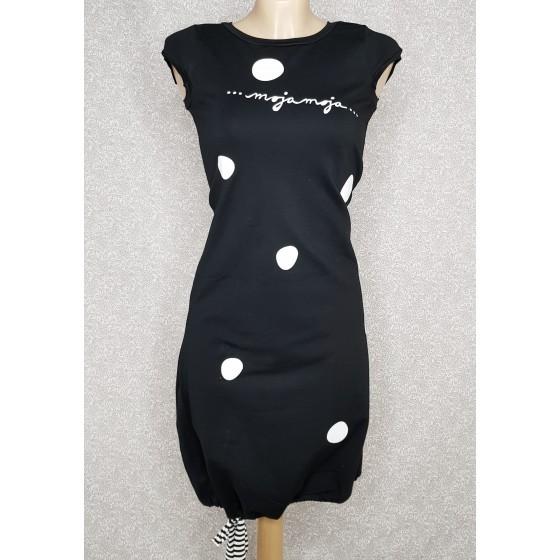 Obleka Pika črna