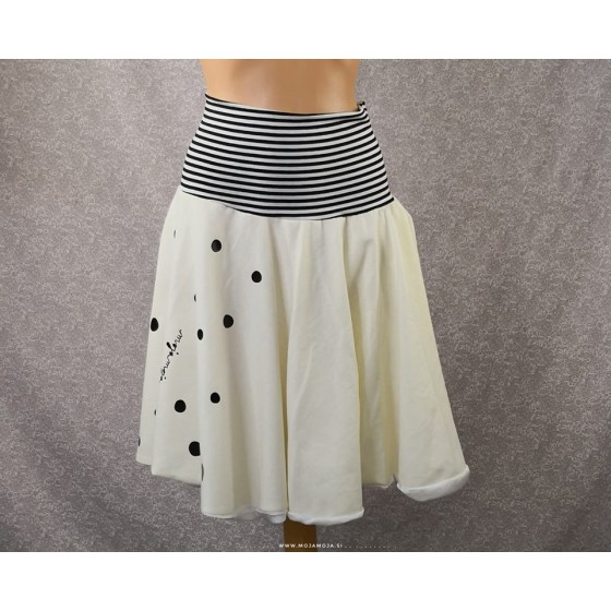 Dotted skirt
