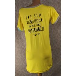 Majica Vzgojiteljica rumena