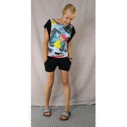 Kratke hlače črne - prednaročila