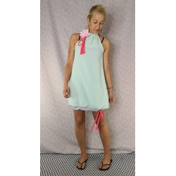 Muslin dress mint - preorder