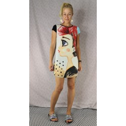 Dress Nu Girl with flowers