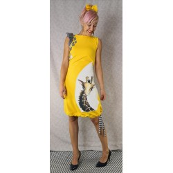 Dress Giraffe yellow - preorders