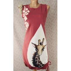 Dress Giraffe Pink