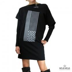 Topla oblekca / tunika črtopike