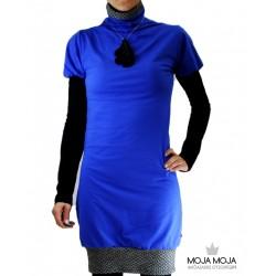 Obleka Modra Manca