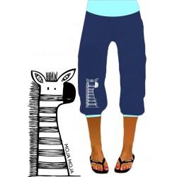 34 hlače Zebra - modre