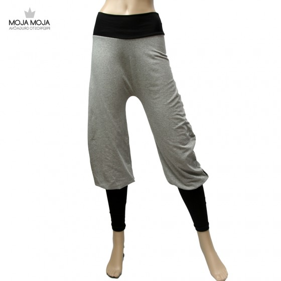 Basic hlače sive