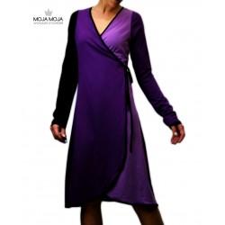 Vijolica obleka ali dolga jopa