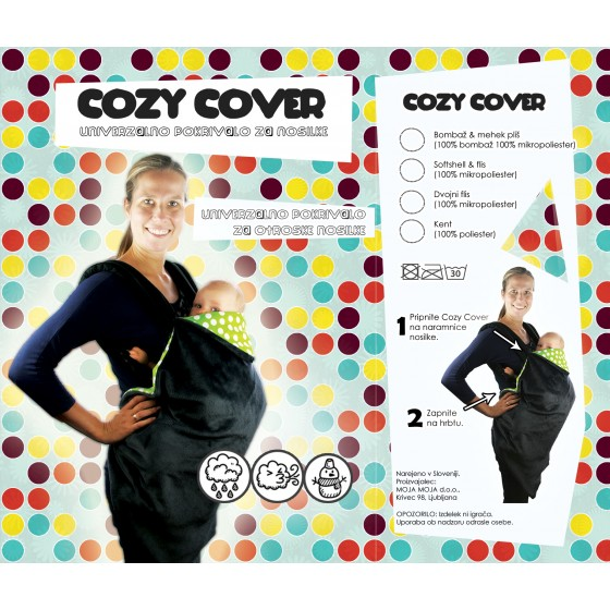Cozy Cover Softshell - pokrivalo za nosilke