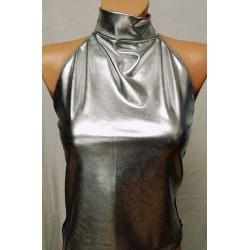 Majica Tamiko - srebrna