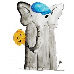 Našitek slon