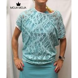 Majica Isabela mint čipka