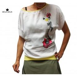 Majica noj - bela