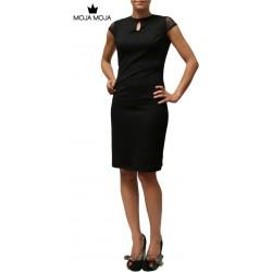 Obleka Davida črna