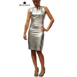 Obleka Davida - srebrna