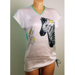 Majica Zebra mint