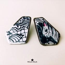 Uhani Zebra 2