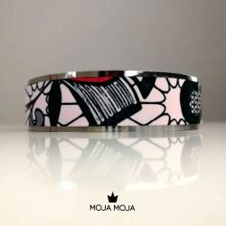 Narrow bracelet Pink