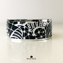 Midi bracelet Black Lace