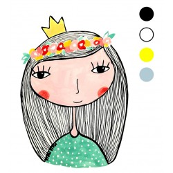 Preslikač Princesa A6