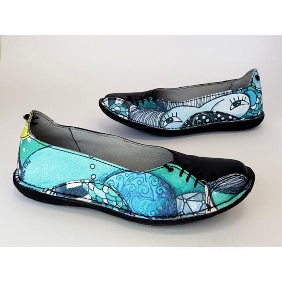 Modni čevlji Črni - prednaročila
