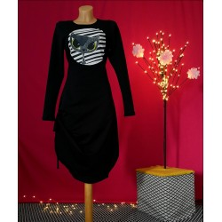 Obleka Black cat
