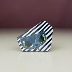 Prstan Black cat
