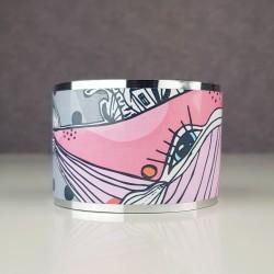 Wide bracelet Whale