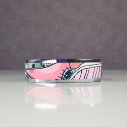 Narrow bracelet Whale
