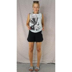 Simpl retro kratke hlače črne