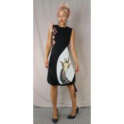Obleka Žirafa črna - prednaročila
