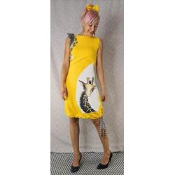 Obleka Žirafa rumena