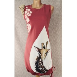 Obleka Žirafa Rozi
