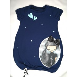 Obleka mini pupa Asja