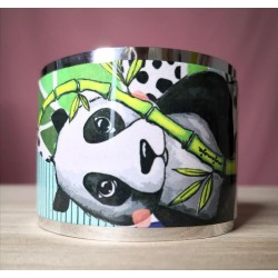 Wide bracelet Panda