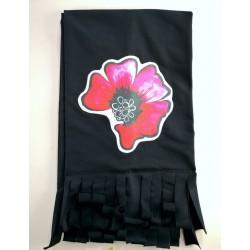 Black scarf - Poppy